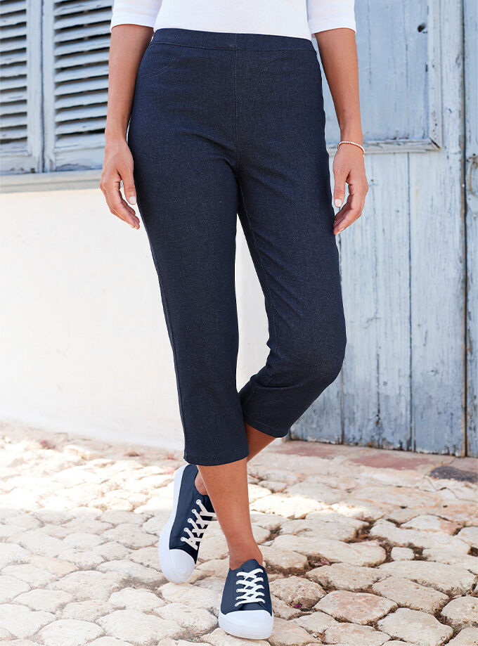Inspirational Colours | Crop Jegging | By Cotton Traders
