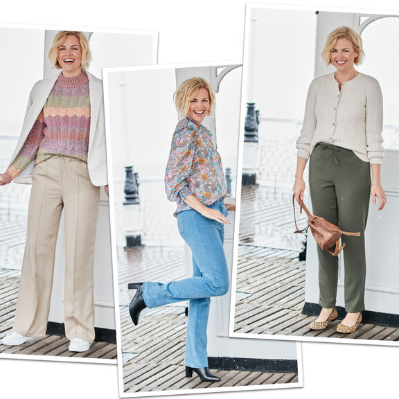 Trousers To fit Your Style   By Cotton Traders