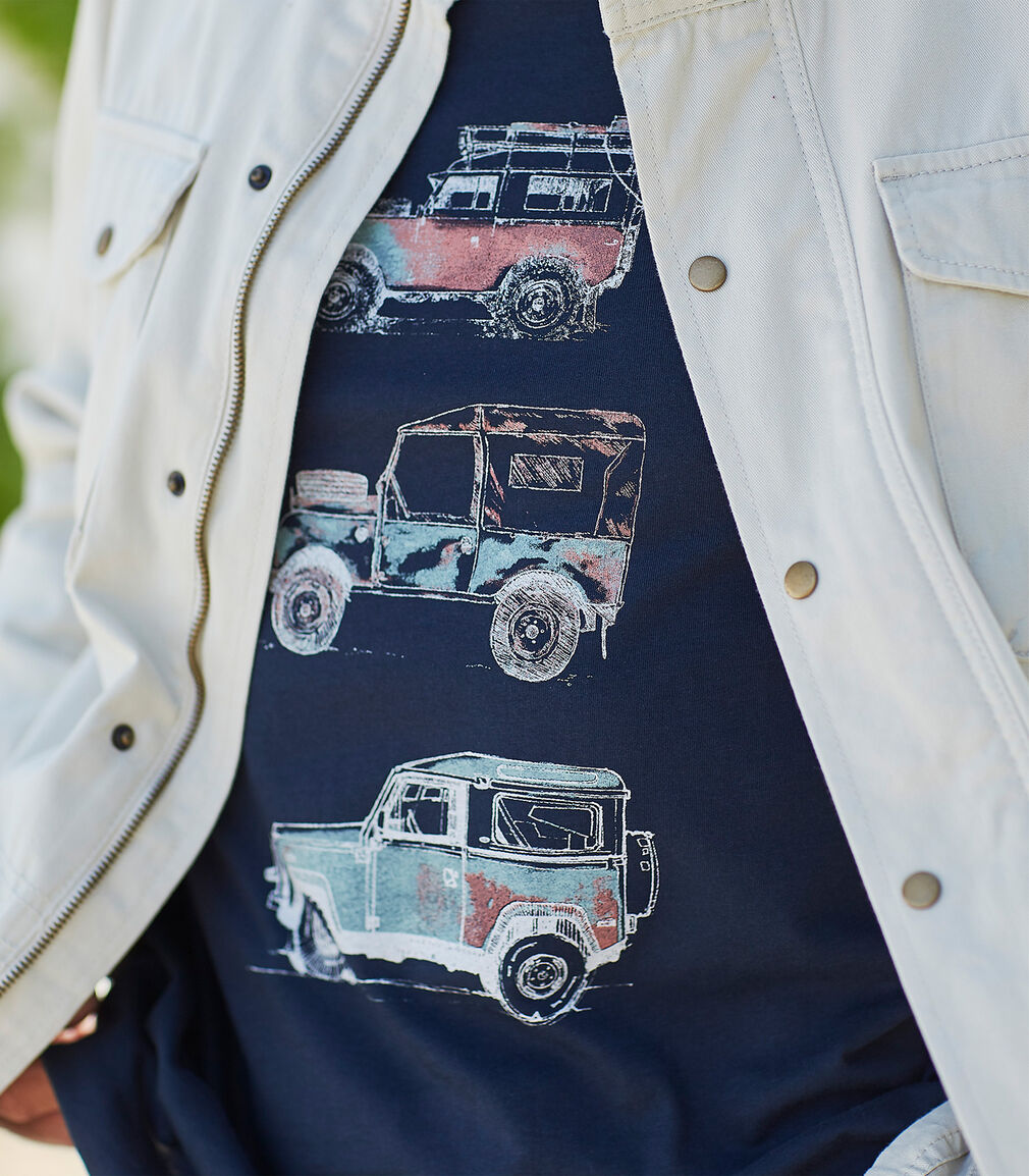 Men's Collection | Field Jacket | Explorer T-shirt | By Cotton Traders