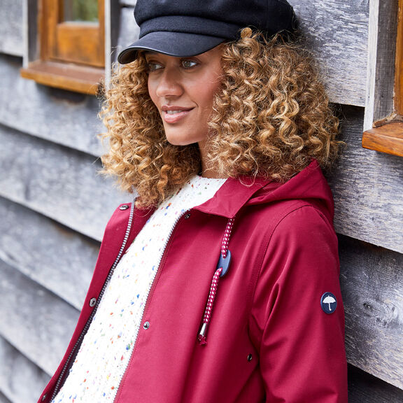 The Singing-in-the-rain Weatherproof Coat   By Cotton Traders