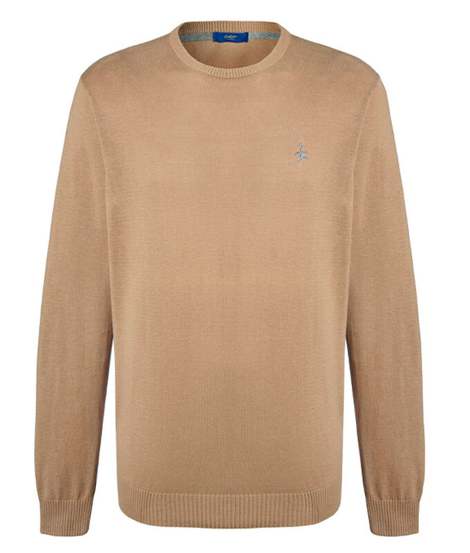 The Charismatic Goose | Cotton Crew Neck Jumper | By Cotton Traders