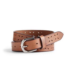 Women's Cutwork Leather Belt