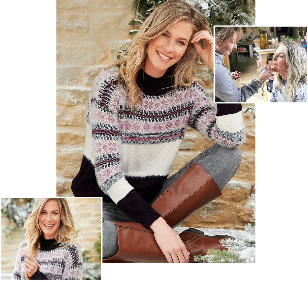 Creating Christmas | Fair Isle Jumper | By Cotton Traders
