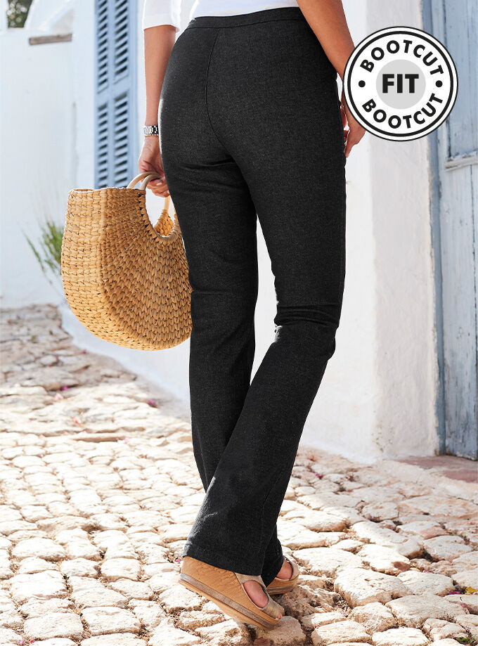 Inspirational Colours | Bootcut Jeggings | By Cotton Traders