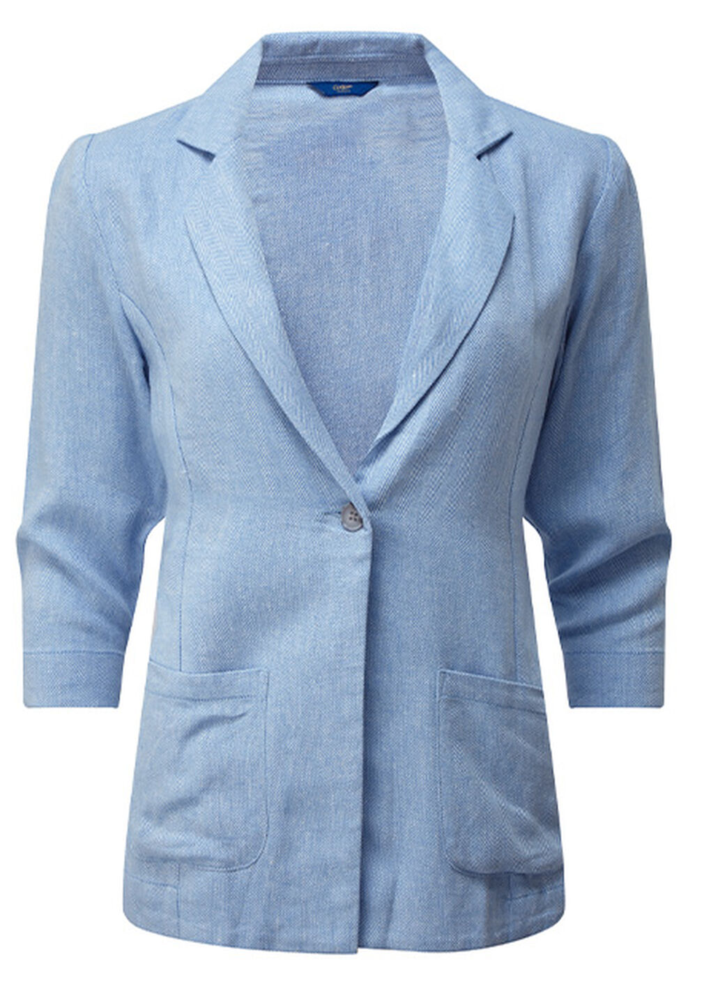 The Spring Collection | Linen-blend Jacket | By Cotton Traders