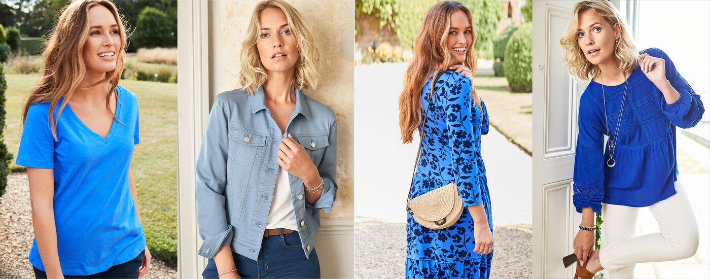 Blue Clothing