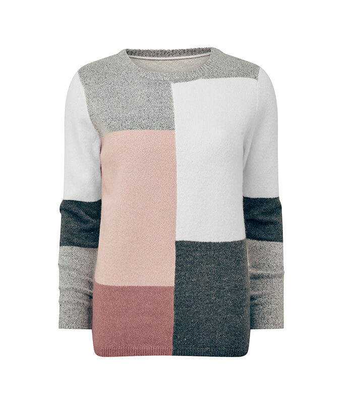 The Colourblock Jumper | Colourblock Colourblock Jumper | By Cotton Traders