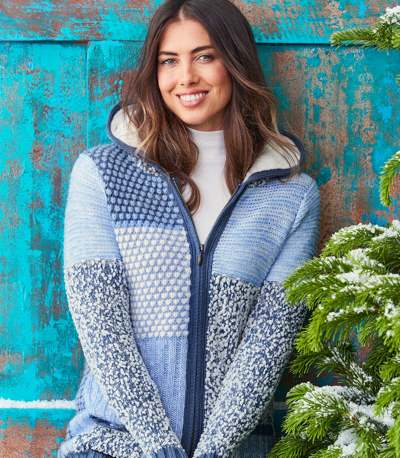 Cosy Nights In | Textured cardigan | By Cotton Traders