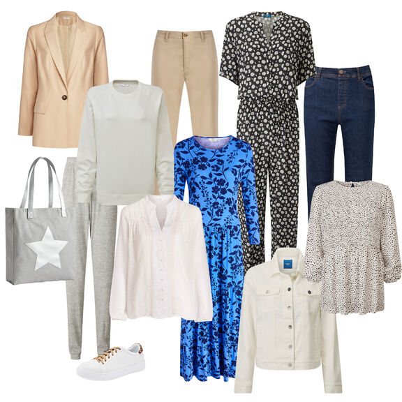Spring Capsule Wardrobe | By Cotton Traders