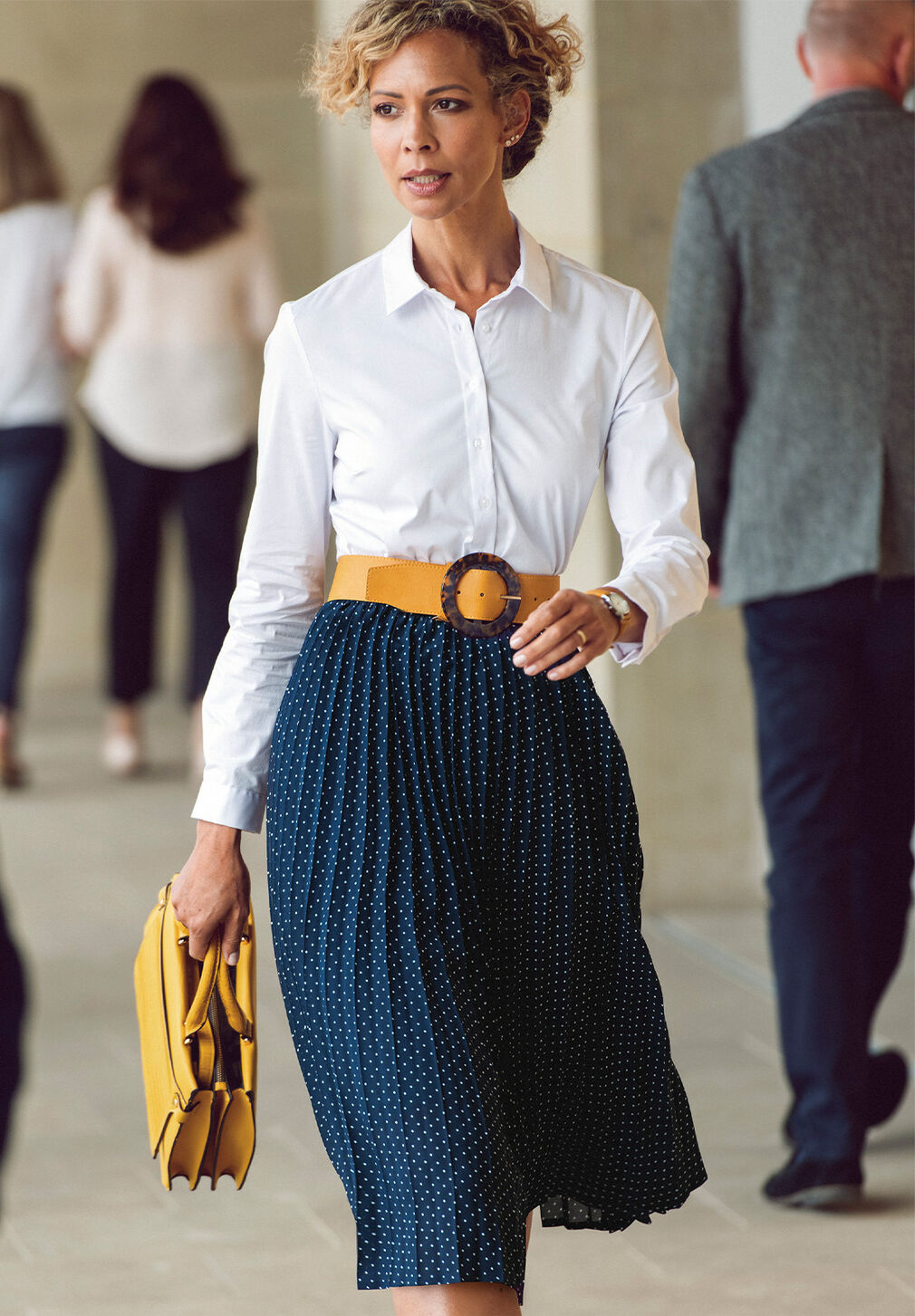 The Swishy Skirt | Ultimate Chino Trousers | By Cotton Traders