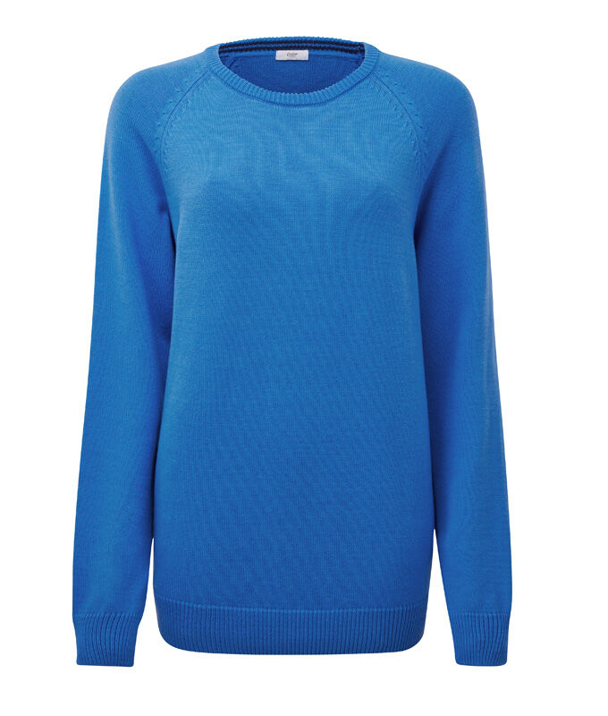 Knitwear Inspirations | Cotton Crew Neck Jumper | By Cotton Traders