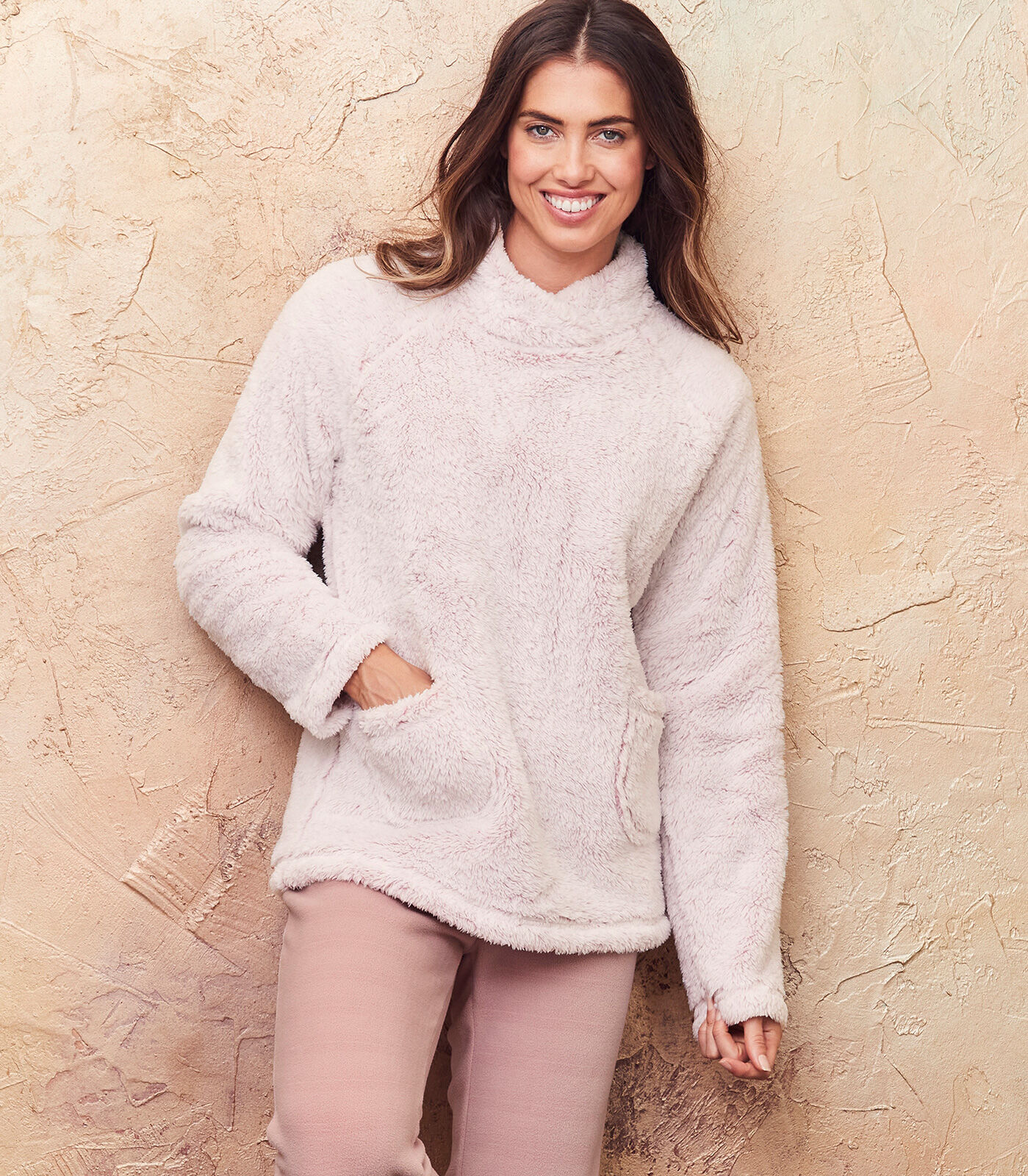 Cosy Nights In | Fleece Top | By Cotton Traders