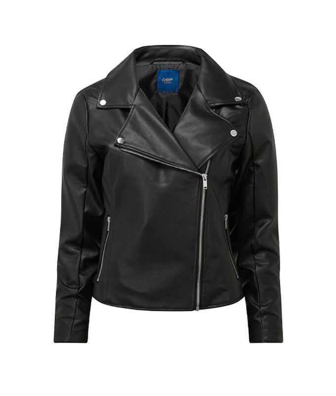 The Biker Jacket | Pointelle Jumper | By Cotton Traders