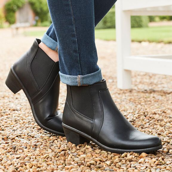 Womens Ankle Boots   By Cotton Traders