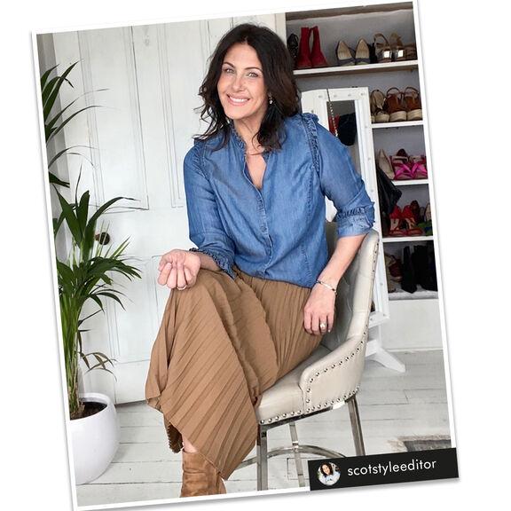 #5WaysToWear The Swishy Skirt | By Cotton Traders