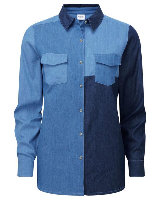 Mix and Match Denim Shirt
