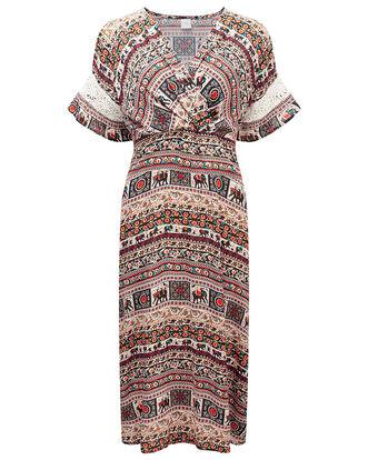 Elephant Print Dress