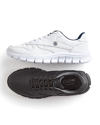Unisex Active Lace-Up Trainers