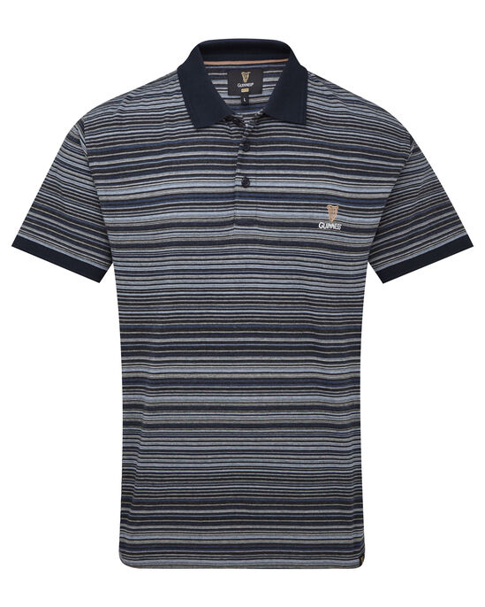 Guinness® Fine Stripe Polo Shirt