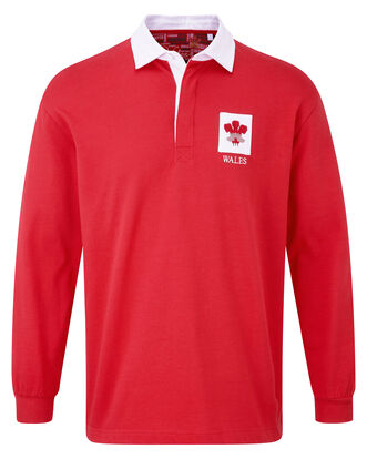 Long Sleeve Wales Classic Rugby Shirt