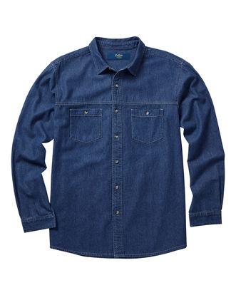 Men's Long Sleeve Denim Shirt