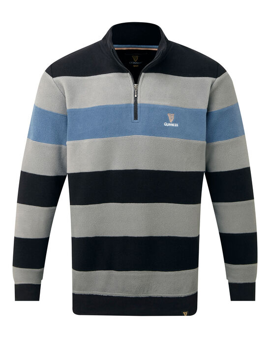 Guinness® Half Zip Stripe Top