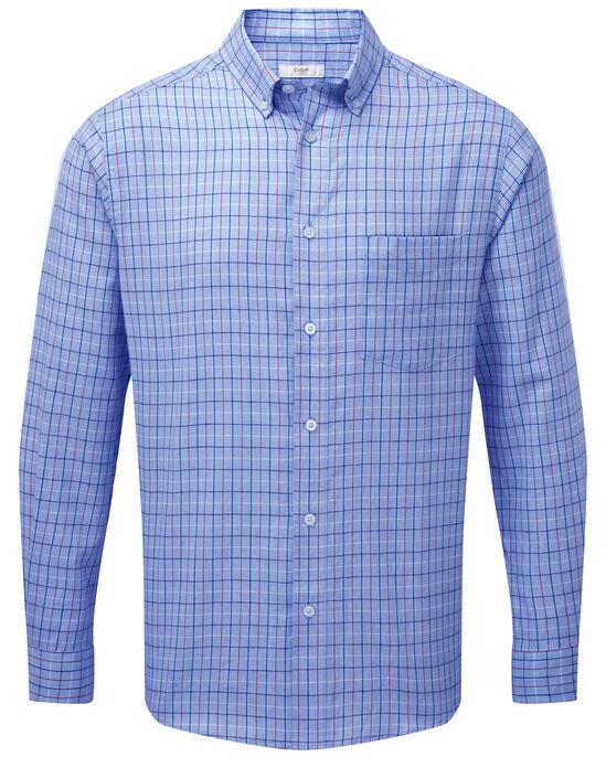 Classic Long Sleeve Tattersall Twill Shirt