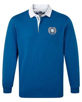 Long Sleeve Scotland Rugby Shirt