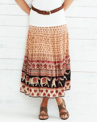 Elephant Print Skirt