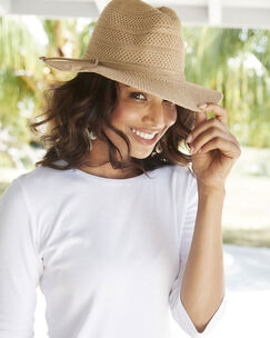 Womens Foldaway Fedora Hat