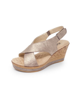 Adjustable Wedge Sandals