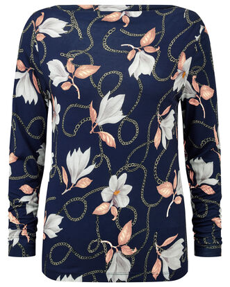 Floral Chain Top