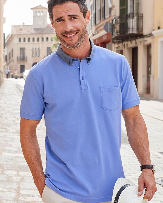 Stretch Pique Polo Shirt