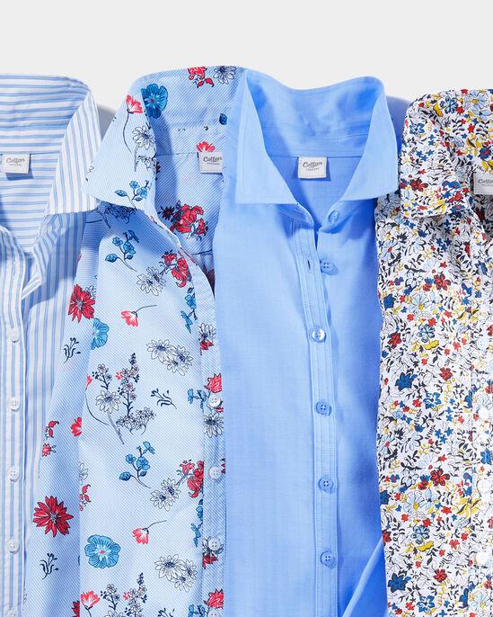 Short Sleeve Crease Resistant Shirt