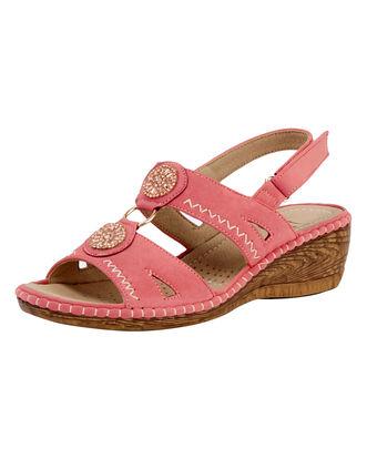 Embellished Sling Back Sandals