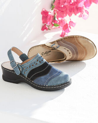 2-in-1 Cutwork Clogs