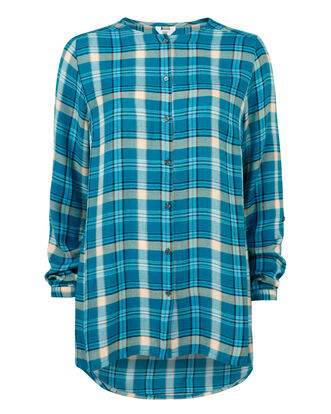 Check Longline Shirt