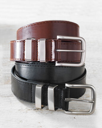 Men's Leather Lined Belt