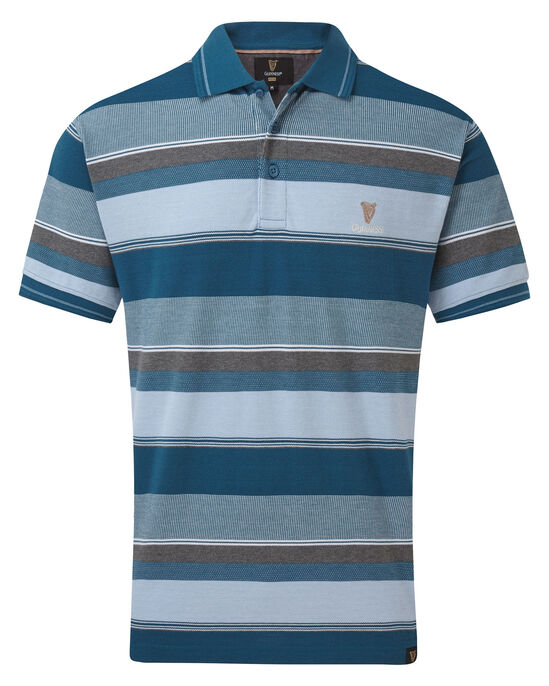 Guinness Variated Stripe Polo Shirt