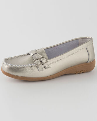 Leather Flexisole Loafers