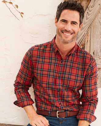 Spice Flannel Check Shirt