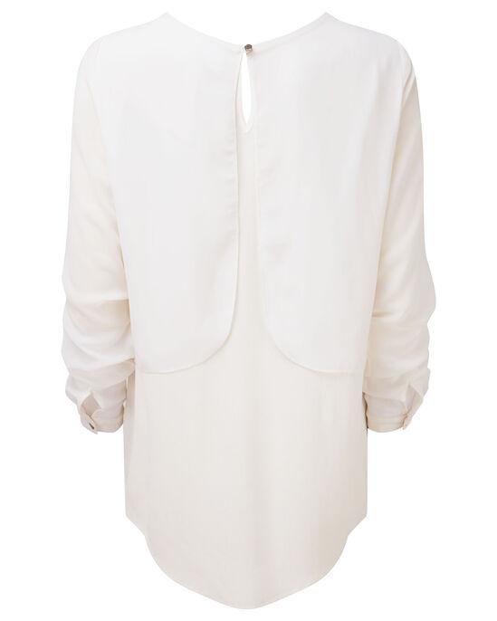 Double Layer Sequin Top