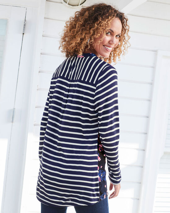 Woven Front Printed Tunic