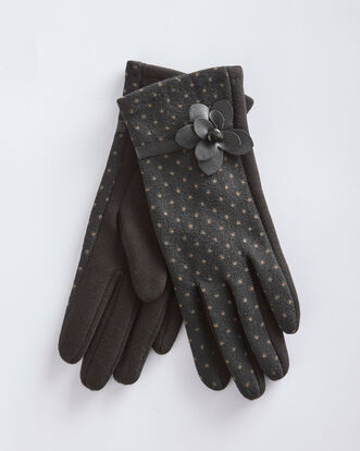Flower Detail Gloves