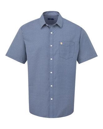 England Rose Short Sleeve Soft Touch Print Shirt