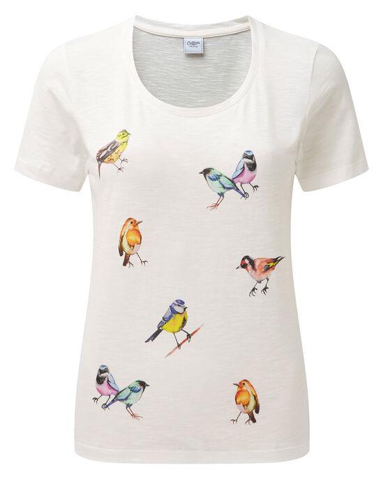 Bird Print T-shirt