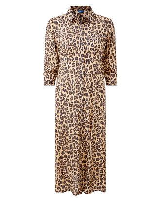 Leopard Frockstar Button-through Dress
