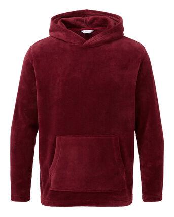 Fleece Hooded Lounge Top