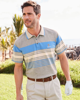 Guinness® Marl Stripe Polo Shirt