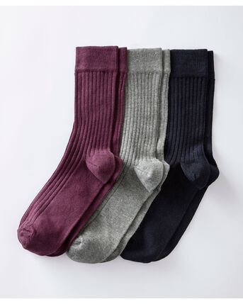Pack of 3 Comfort Top Socks